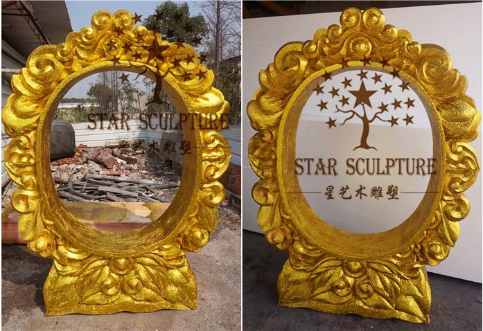 星艺术雕塑-婚礼欧式雕花镜框